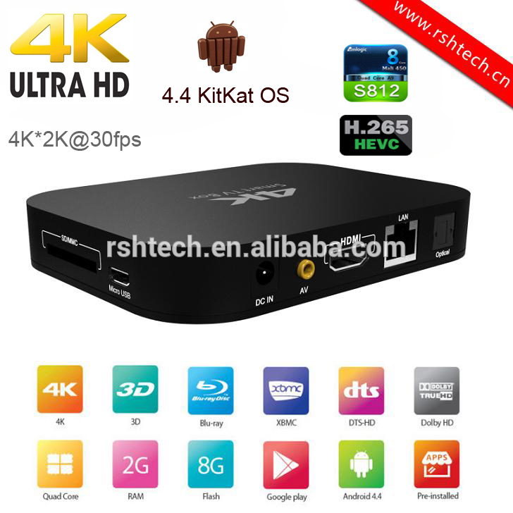 pas cher iptv bo te amlogic s812 quad core smart tv box avec 2 gb rom 8 gb flash 4 k kodi goog. Black Bedroom Furniture Sets. Home Design Ideas